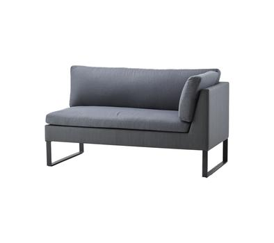 Cane-line Flex 2 seater sofa, left module - see selection u2013 Cane