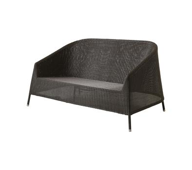 Cane-line Kingston 2-seater sofa, stackable - see selection u2013 Cane