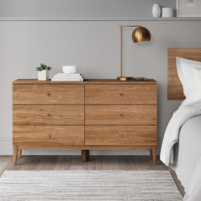 Siegel 6 Drawer Dresser Walnut - Project 62™ : Target