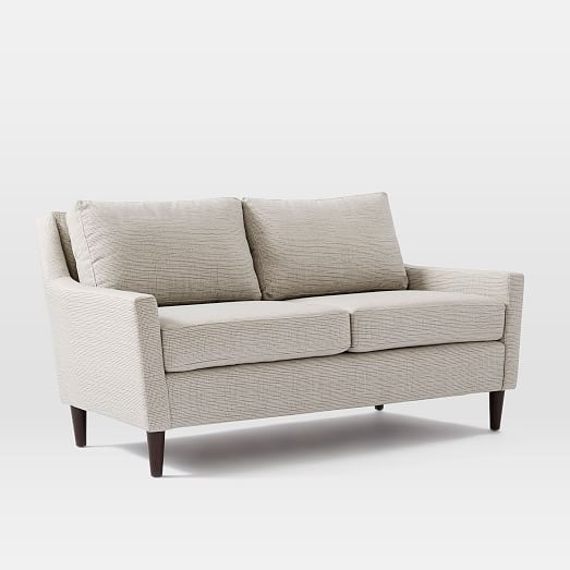 Contemporary 60 inch loveseat