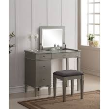 How to turn a desk into a   Bedroom Vanity?