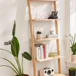 Leaning bookshelf for home and   libraries