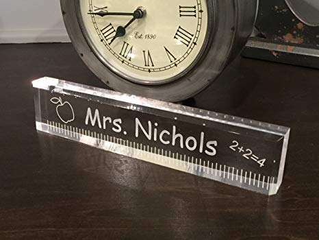 Amazon.com : Acrylic Teacher Office Desk Bar - Beautiful Teacher