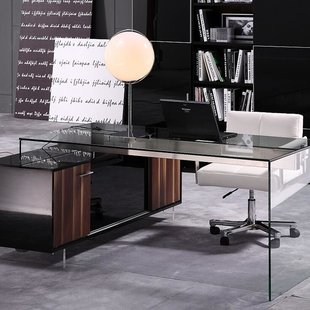 Work happily on your acrylic   office desk in the new bright environment