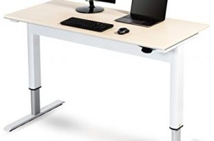 Amazon.com: Pneumatic Adjustable Height Standing Desk (48