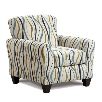 Affordable Furniture Mfg Accent Chairs 9001 Streamer Opal