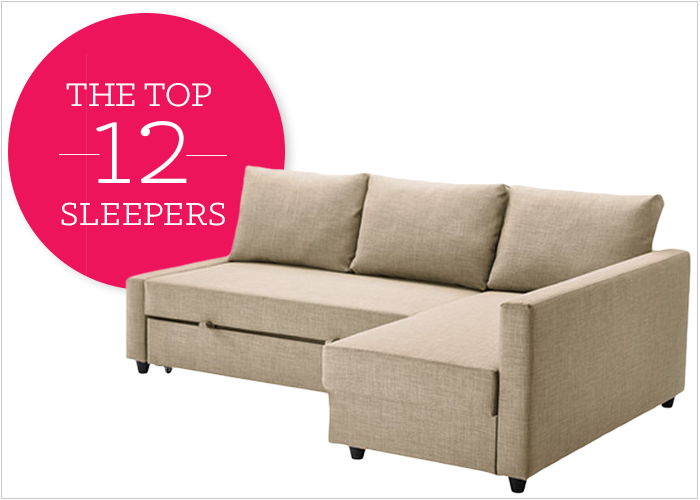 12 Affordable (And Chic) Small Sleeper Sofas For Tight Spaces