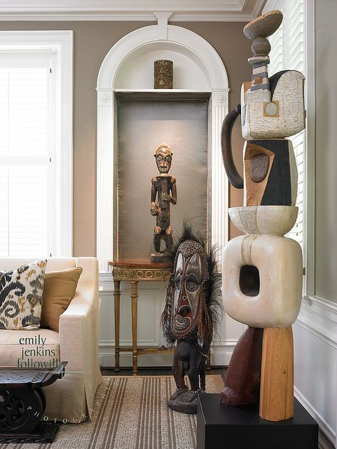 African home decor ideas. African interiors. Contemporary African