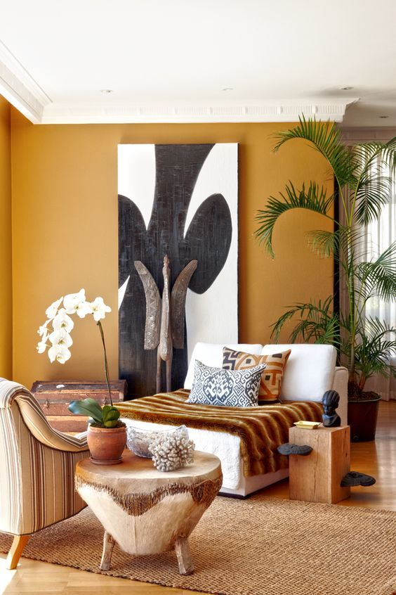How to bring lively african   decor ideas in your home