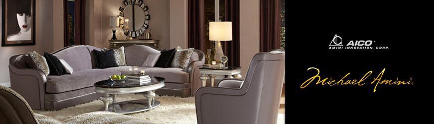 Michael Amini Furniture Design | AICO Furniture | Boyles Furniture