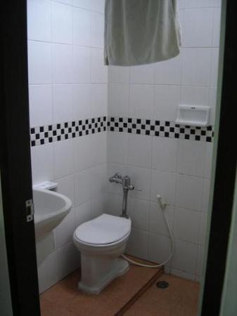 Bathroom (toilet, sink and shower all in one!) - Picture of New Siam