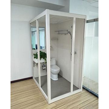 China SMC Modular bathroom pod prefab all in one from Lianyungang