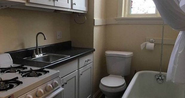 Apartment features all-in-one bathroom and kitchen - Metro Voice News