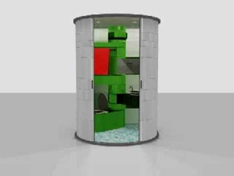 All in One Bathroom unit - YouTube