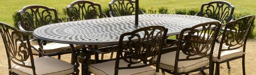 The benefits of cast aluminium garden furniture - Rathwood