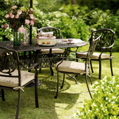 Cast Aluminium Garden Furniture