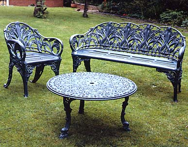 Cast Aluminium Outdoor Benches & Garden Furniture | London | UK