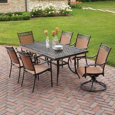 Cast Aluminum - Patio Furniture - Outdoors - The Home Depot