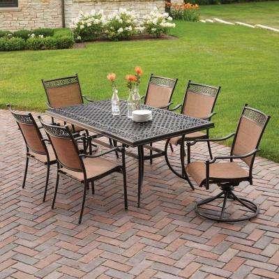 Cast Aluminum - Patio Furniture - Outdoors - The Home Depot