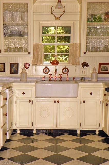 Pretty Antique Kitchen Pictures, Photos, and Images for Facebook