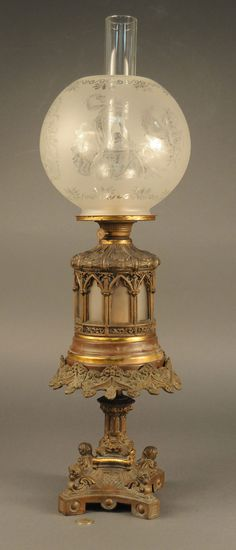 386 Best Let There Be Lamps! images   Antique lamps, Vintage lamps