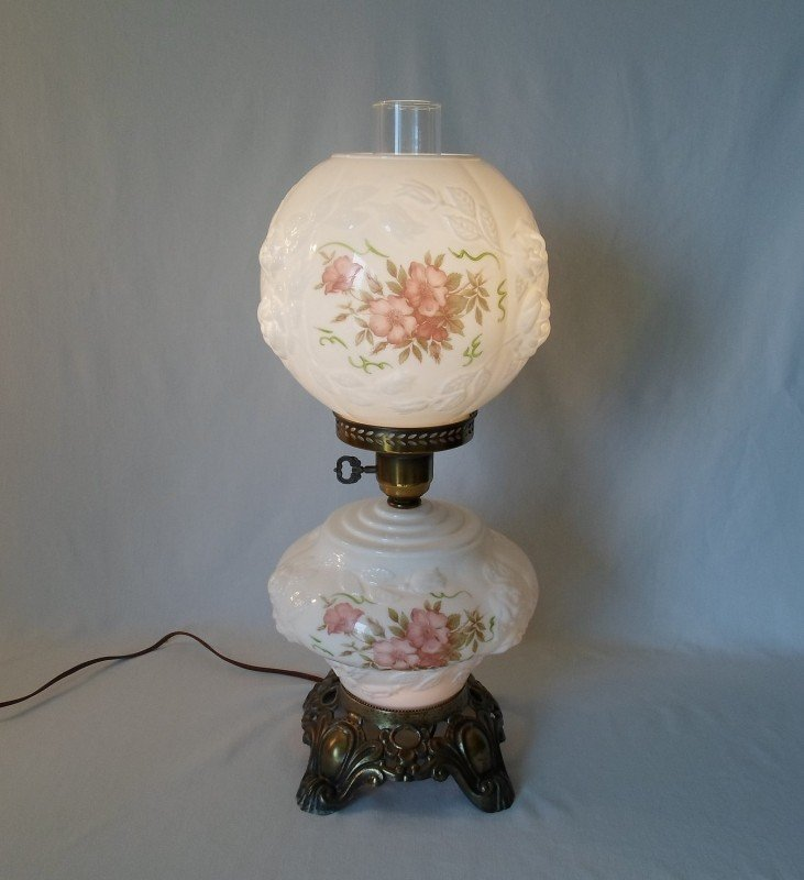 Antique Hurricane Style Glass Lamps - Ideas on Foter