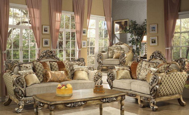 Setting your antique living room – CareHomeDecor