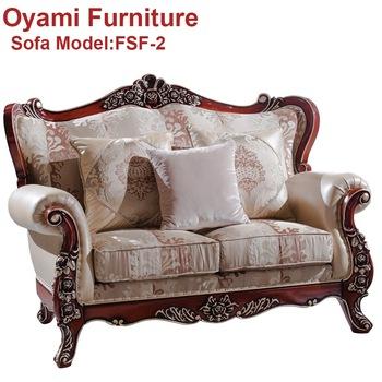 Solid Beech Italian Design Pakistan Antique Sofa Furniture Designs