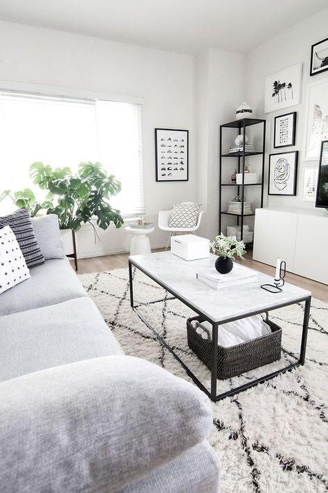 120+ Apartment Decorating Ideas   modern furniture   Living room