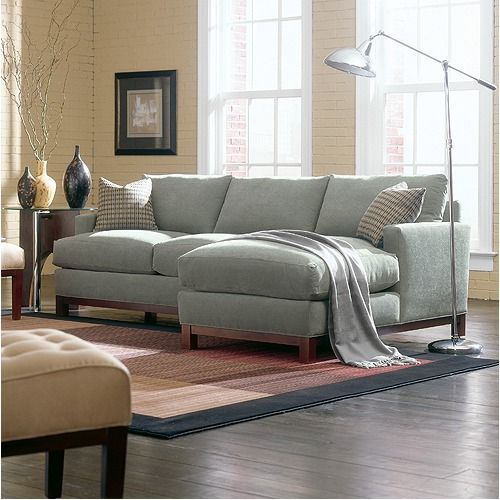 Rowe Furniture Sullivan Mini Mod Apartment Sectional Sofa | Wayfair