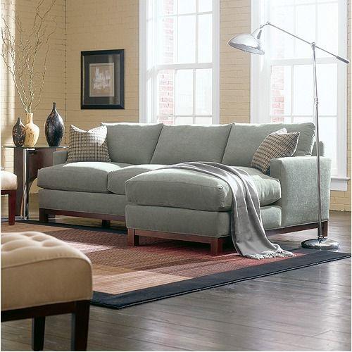 Rowe Furniture Sullivan Mini Mod Apartment Sectional Sofa | Wayfair