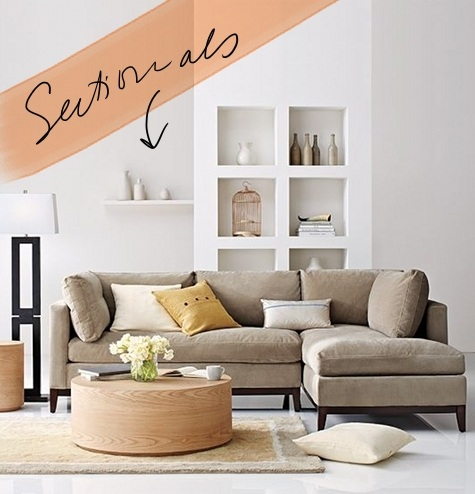 our new apt: the hunt for the perfect sectional u2013 Design*Sponge
