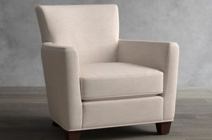 Irving Square Arm Upholstered Armchair | Pottery Barn