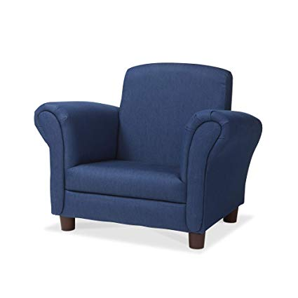 Amazon.com: Melissa & Doug Child's Armchair, Denim Children's