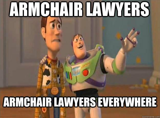 Your office will look better   with an armchair lawyer