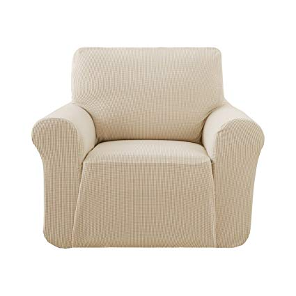 Amazon.com: Deconovo Beige Armchair-Slipcovers Couch Cover Fitted