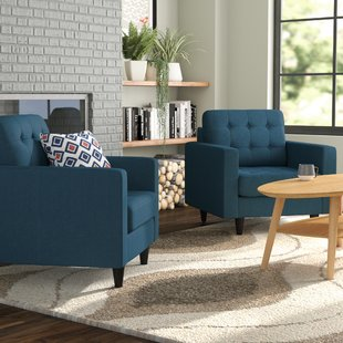 Set Of 2 Armchairs   Wayfair