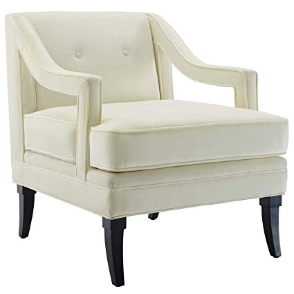 Amazon.com: Modway EEI-2996-IVO Concur Button Tufted Upholstered