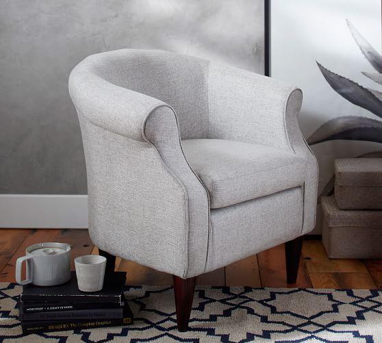 SoMa Lyndon Upholstered Armchair | Pottery Barn