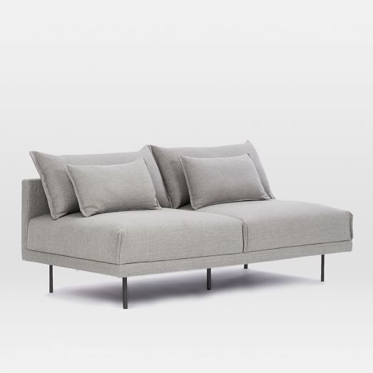 Comfort and armless sofa