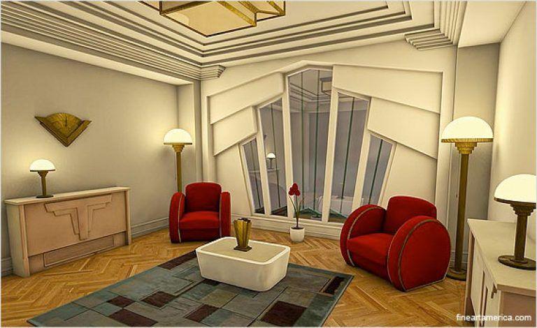 Art Deco Interior Design Art Deco Interior Design Pictures Home