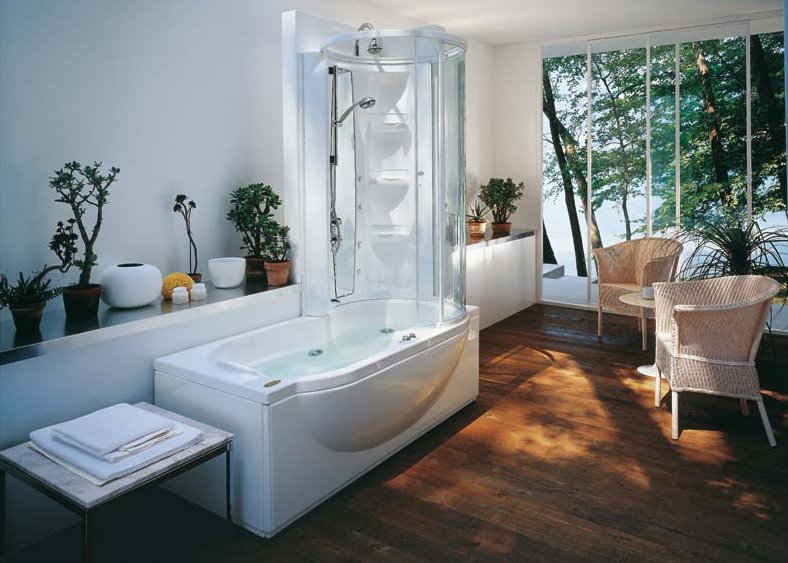 Asian style bathroom designs