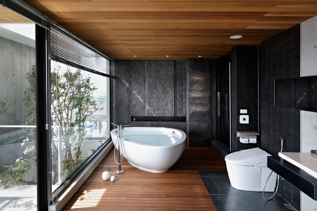 How to create asian style   bathrooms in your home