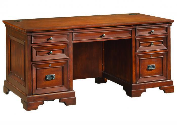 The Old Brick Furniture Company Richmond Executive Desk by Aspen