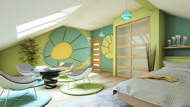 How to Smartly Design an Attic | Home Design Lover