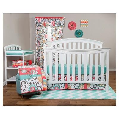 Waverly Baby By Trend Lab 3pc Crib Bedding Set u2013 Pom Pom Play : Target