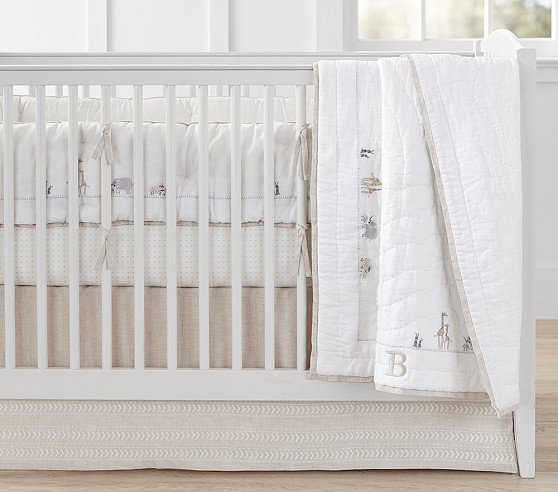 Sweet Animal Baby Bedding | Pottery Barn Kids