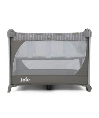 Joie commuter travel cot with customclick - woodland mint *exclusive
