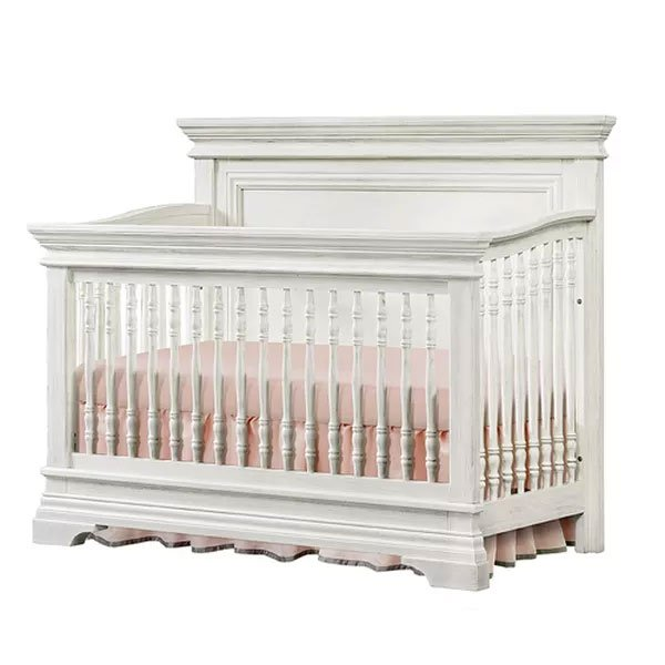 Classic Traditional White 4-in-1 Convertible Crib - Olivia | RC