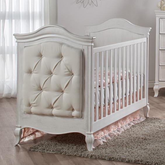 Pali Diamante Classic Crib in Vintage White - Pali Furniure | Baby